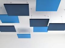 Panouri fonoabsorbante Suspendate Air Pixel