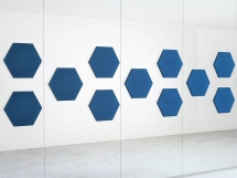 Panouri fonoabsorbante Glass Hexa